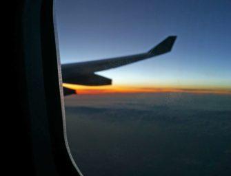 Für meine Flugreisen mach mal Pause, Klimawandel!