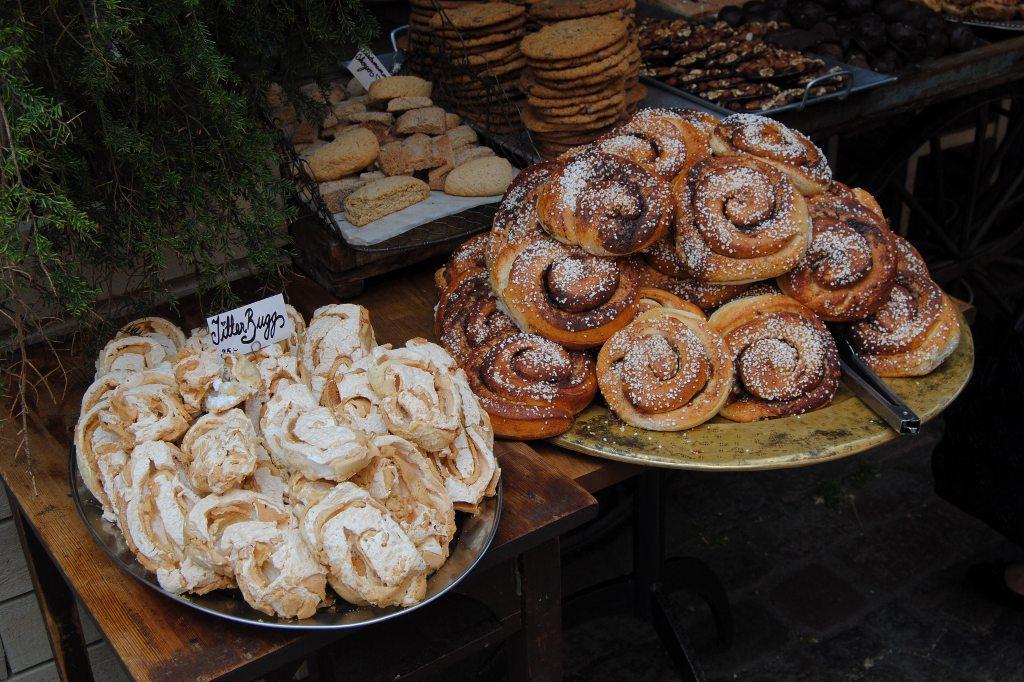 Süßes schwedisches Gebäck.