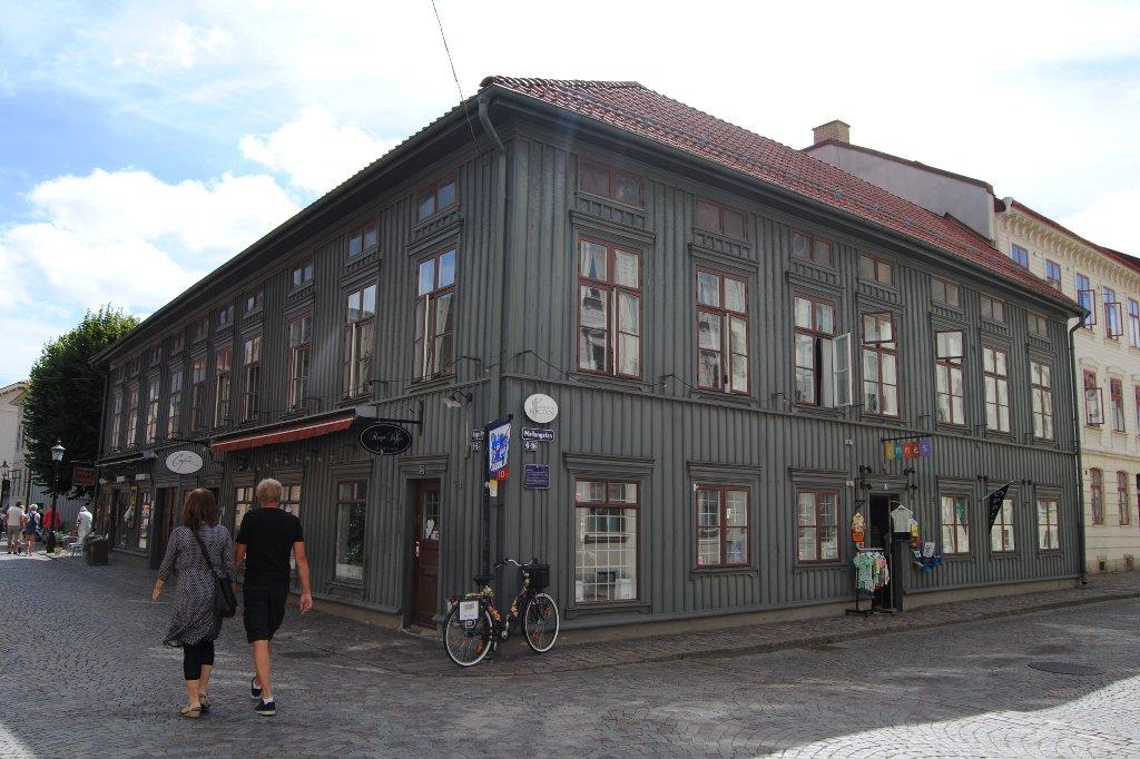 Das Haga Viertel in Göteborg.