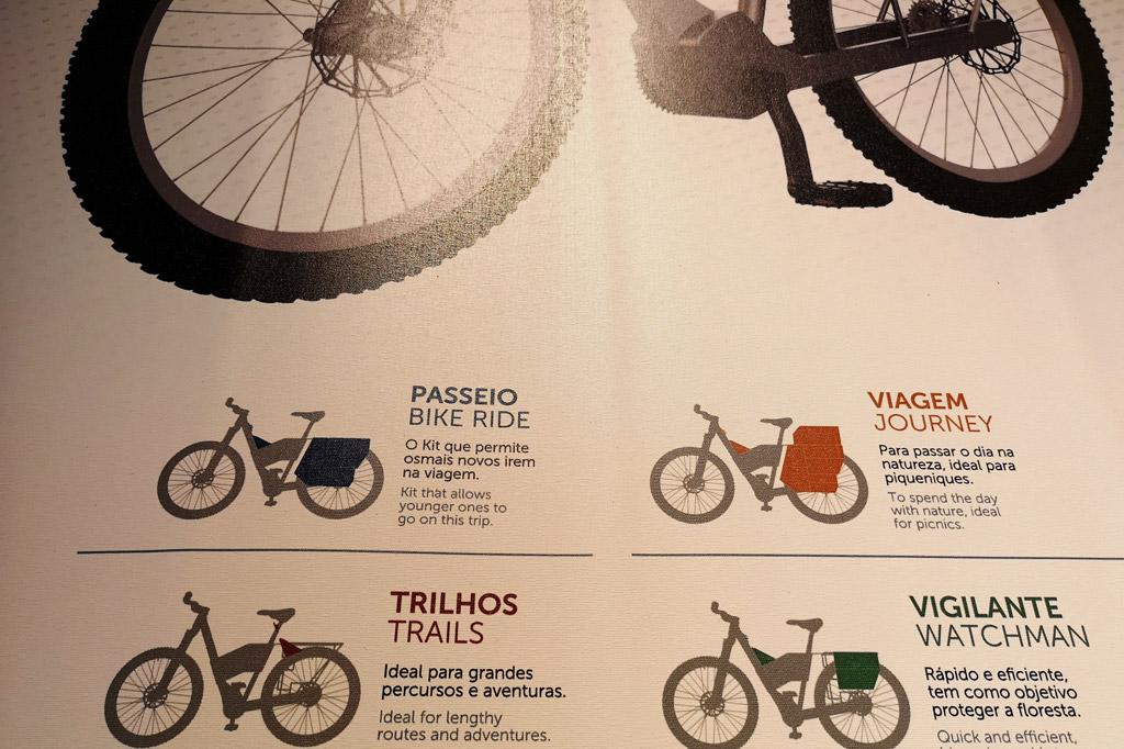 Ab aufs Land: Dorfkultur made in Portugal – Das für die Region der Aldeias do Xisto konzipierte E-Bike in verschiedenen Ausführungen: geländegängig, als Tourenrad und ausgestattet für Picknicks