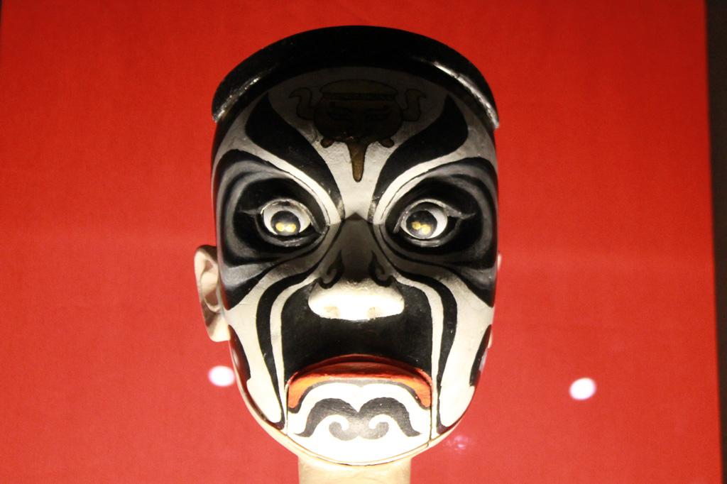 Der Kopf einer chinesischen Stabpuppe im Museu do Oriente, aus: Lissabon Tipps: 5 Museen für Deinen Städtetrip