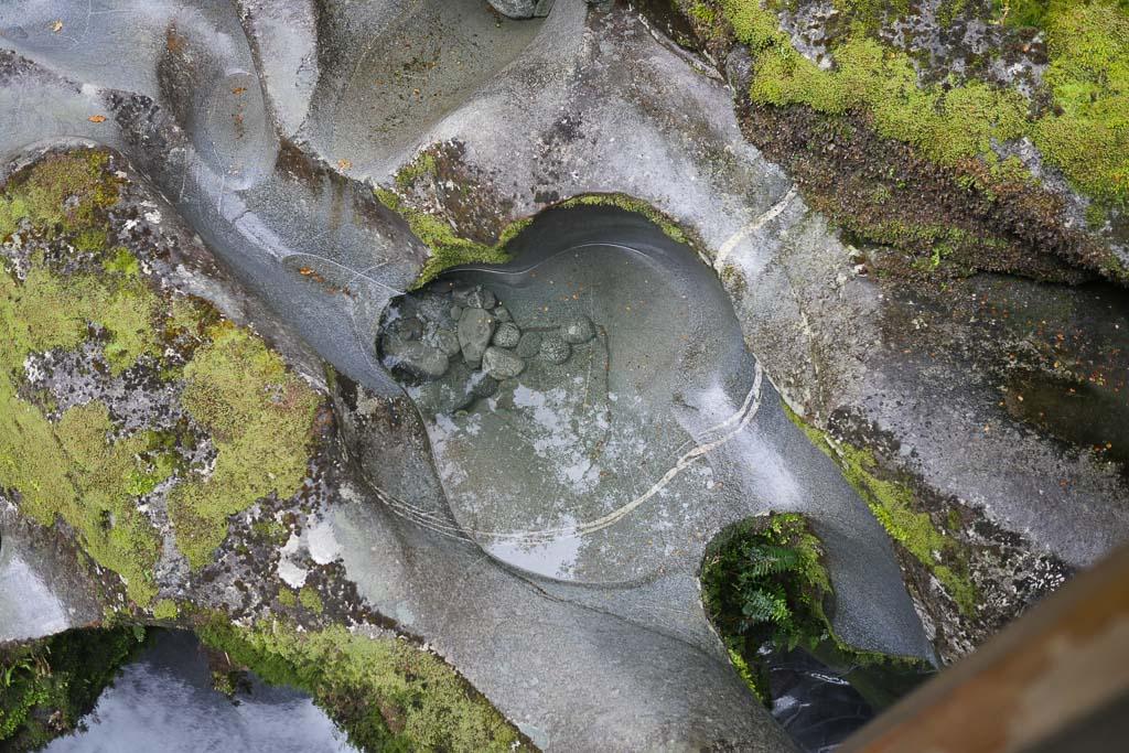 The Chasm im Fiordland Nationalpark in Neuseeland.