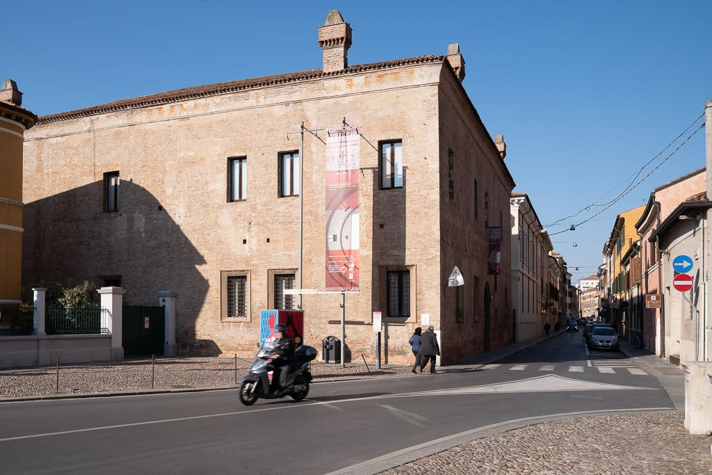 Das Wohnhaus von Andrea Mantegna.