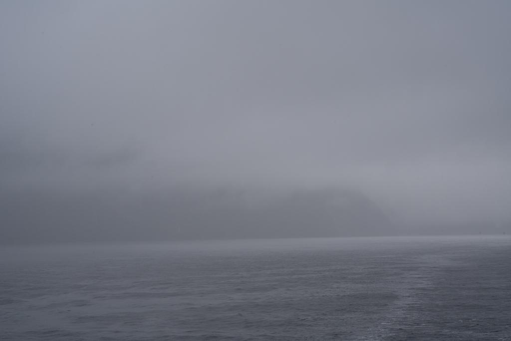 Fahrt auf dem Milford Sound.