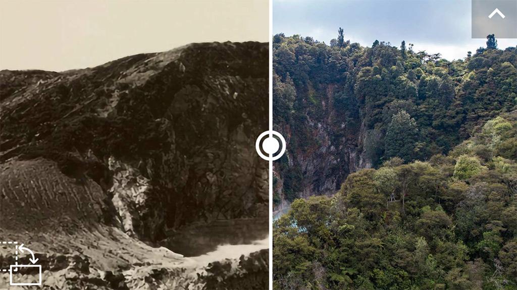Der Inferno Crater im Waimangu Volcanic Valley.