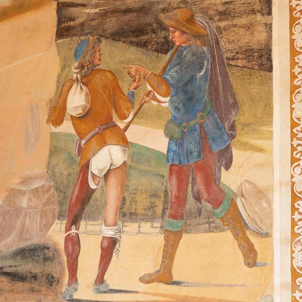 Fresko von Luca Signorelli.
