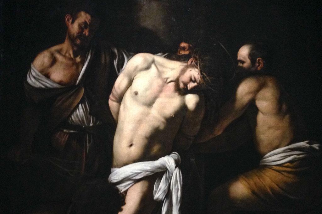 Caravaggio: Geißelung, Museo di Capodimonte Neapel.