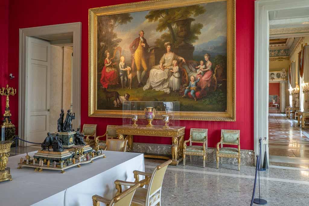 Angelika Kaufmann: Maria Karolina und ihre Familie im Museo di Capodimonte