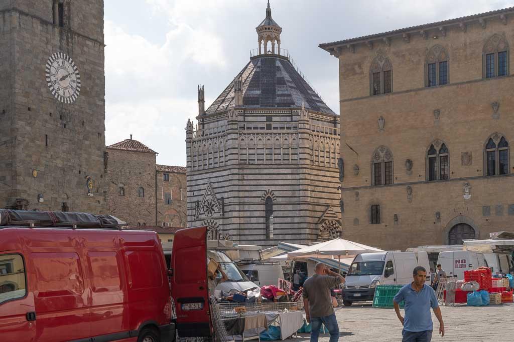 Baptisterium von Pistoia.