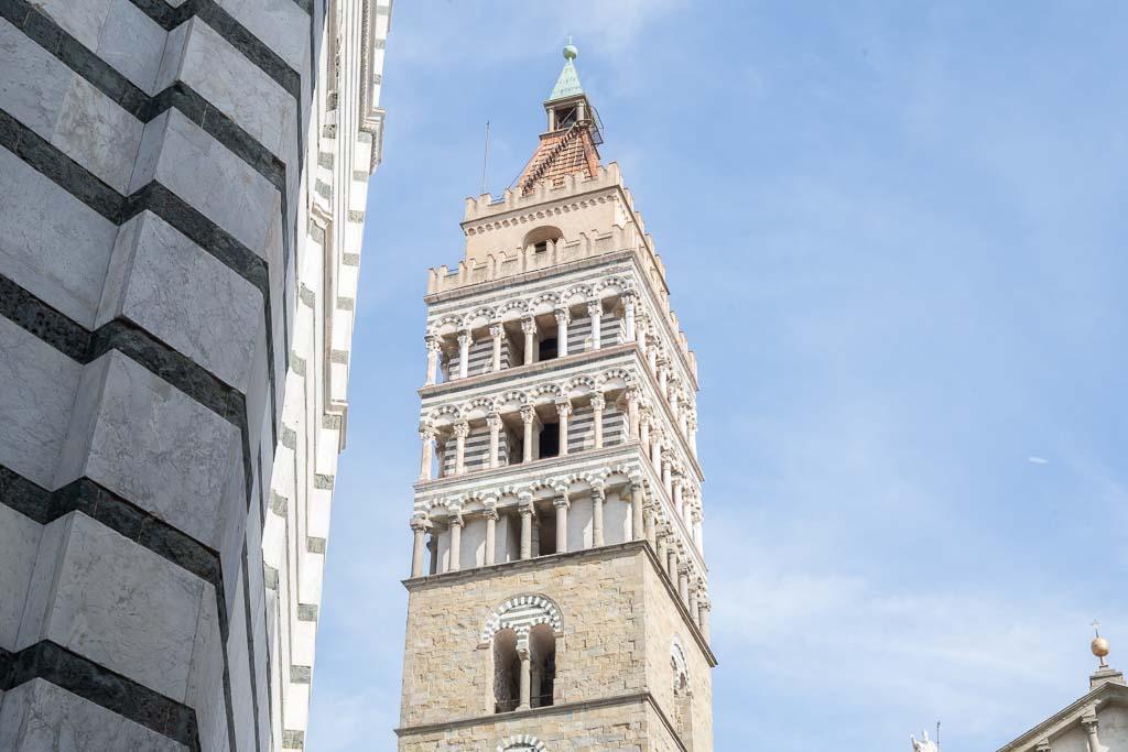 Turm des Domes von Pistoia