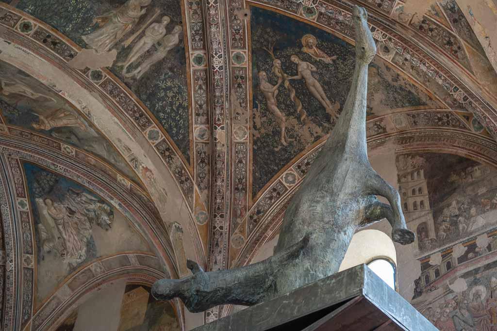 Statue von Marino Marini in Pistoia
