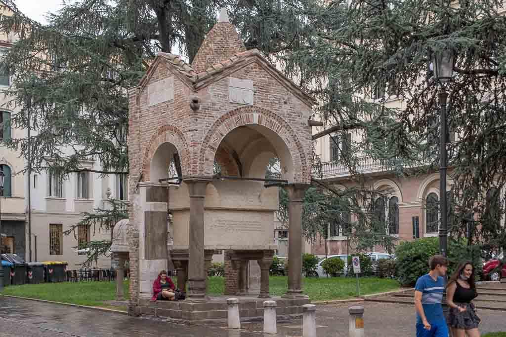 Grabmonument für Antenore, den Stadtgründer Paduas.