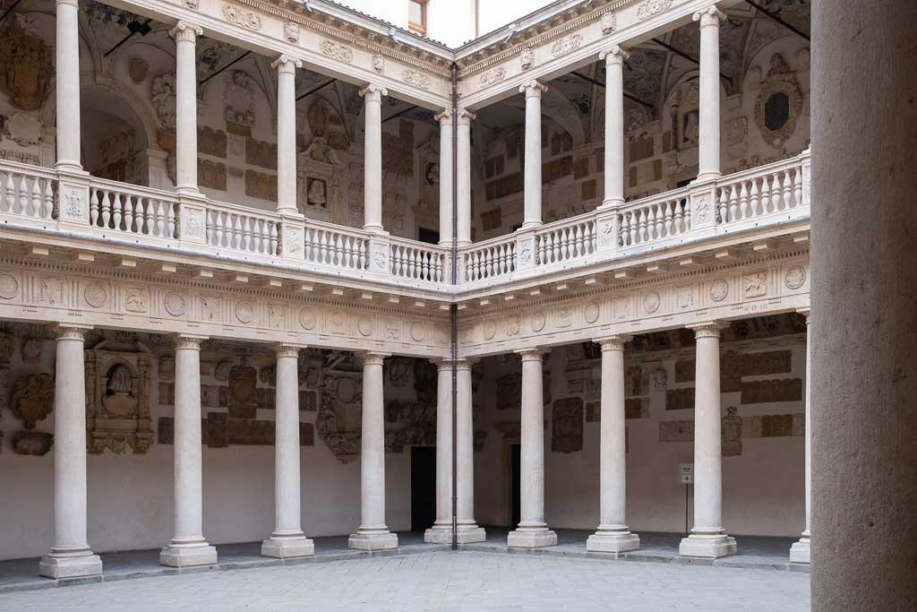 Renaissance Innenhof der Universität von Padua.