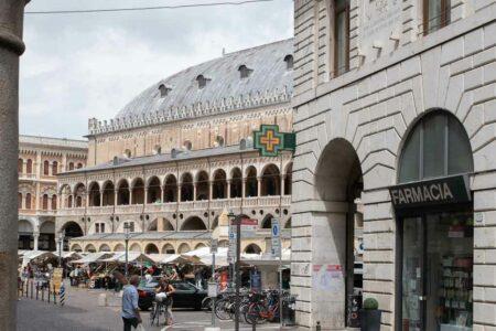 Der Palazzo della Ragione in Padua auf der Piazza delle Erbe.
