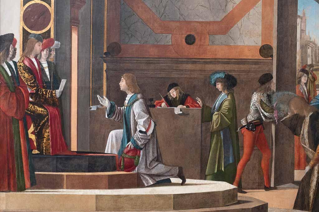 Gemälde von Vittore Carpaccio in Venedig.