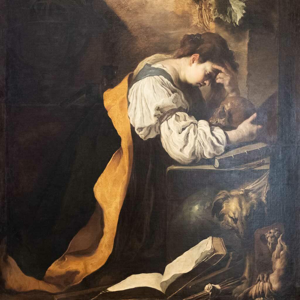 Gemälde von Domenico Fetti in der Galleria dell' Accademia.