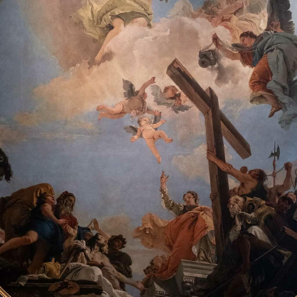 Meisterwerk Tiepolos in der Gemäldegalerie von Venedig.
