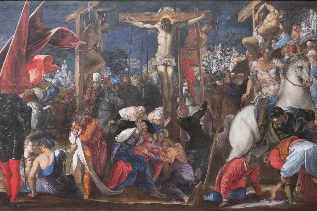 Meisterwerk Tintorettos in der Galleria dell'Accademia.