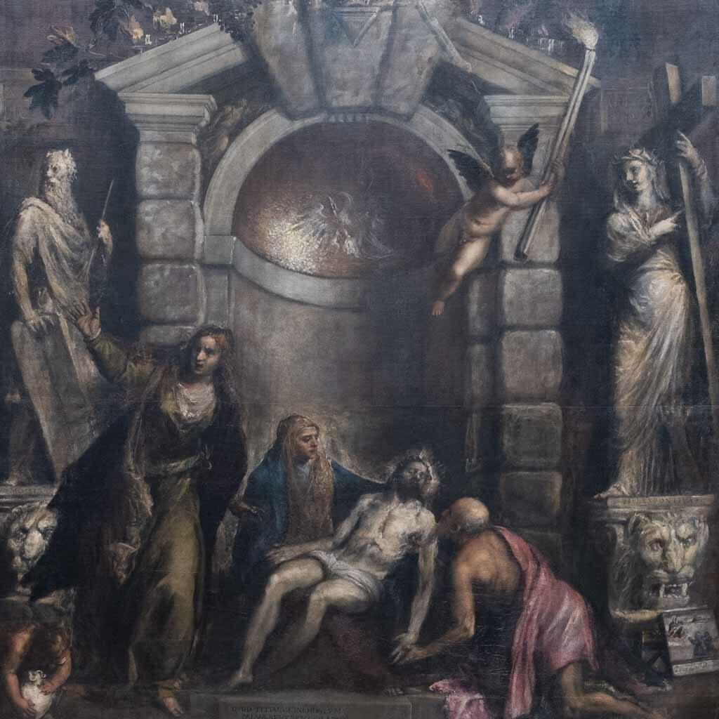 Meisterwerk Titians in der Galleria dell Accademia in Venedig.